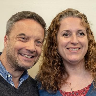 Simon (Senior Minister) & Ceri Harris