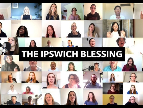 We were so excited to be invited to be part of the Ipswich Blessing. It will be released tomorrow at 5pm on you tube. Watch out for some Burlington faces! #ipswichblessing