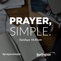 PRAYER, SIMPLE.