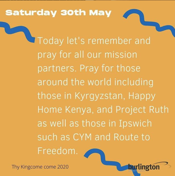 Your kingdom come. #thykingdomcome2020